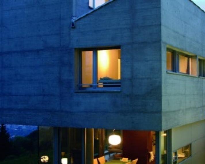 Фасад из бетона бетон противоморозные добавки